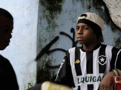 Kinder in Rio werden obdachlos durch Olympische Spiele