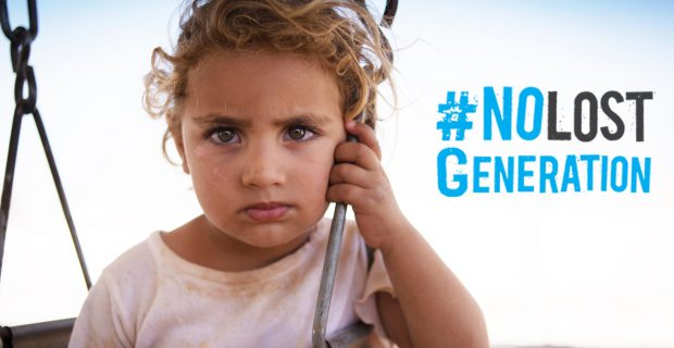 "UNICEF: Initiative ""No Lost Generation"" in Syrien"