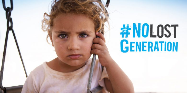 "UNICEF: Initiative ""No Lost Generation"" in Syrien"