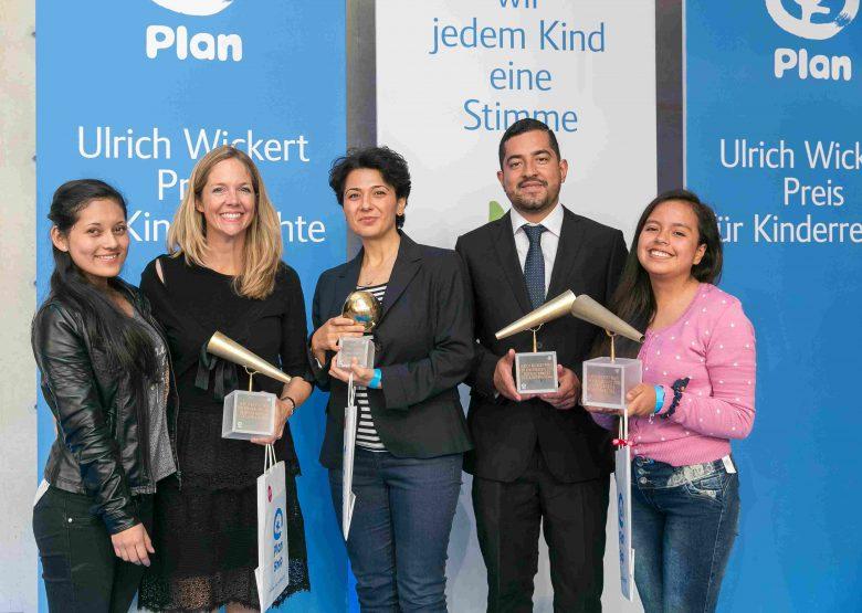 Die Gewinner des Ulrich Wickert Preises für Kinderrechte
