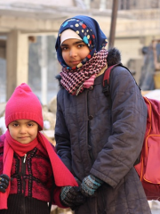 Aleppo: Endlich wieder zur Schule gehen!